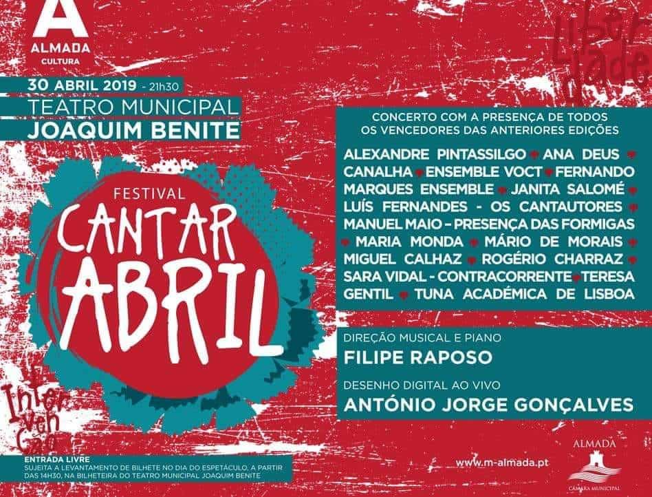 Cantar Abril – Cartaz